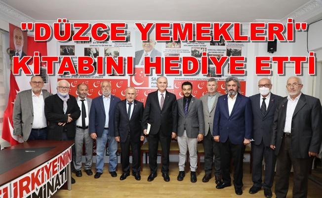ÖZLÜ'DEN SAADET'E 'HAYIRLI OLSUN' ZİYARETİ