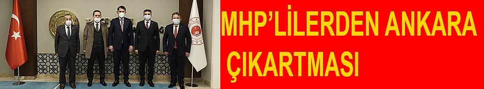 MHP'LİLERDEN ANKARA ÇIKARTMASI