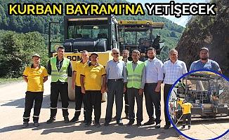 YEDİGÖLLER GRUP YOLUNDA ÇALIŞMA BAŞLADI