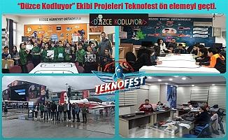 """""""DÜZCE KODLUYOR"""" PROJESİ MEYVELERİNİ VERİYOR"""