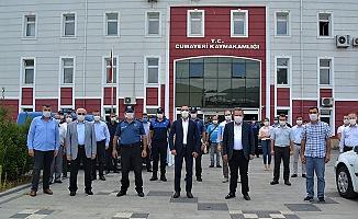 CUMAYERİ'NDE KORONA DENETİMLERİ DEVAM EDİYOR