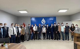 """İYİ PARTİ'DEN DEVA PARTİSİNE """"HAYIRLI OLSUN"""" ZİYARETİ…"""
