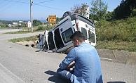 Akçakoca'da trafik kazası