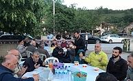 Gürcü çiftlik'te anlamlı iftar