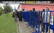 POLİSLER SAVUNMA YAPTI