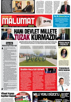 malumathaber - 31.05.2017 Manşeti