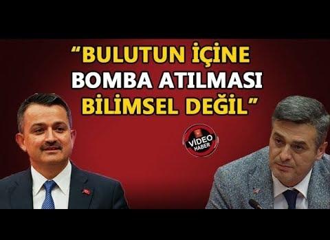 BAKAN PAKDEMİRLİ'DEN VEKİL YILMAZ'A CEVAP GELDİ